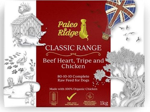Paleo Ridge Beef Heart/Tripe/Chicken Complete 1kg