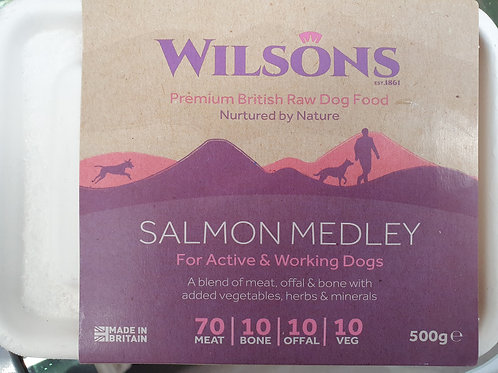 Wilsons  Salmon Medley 70/10/10/10  500g