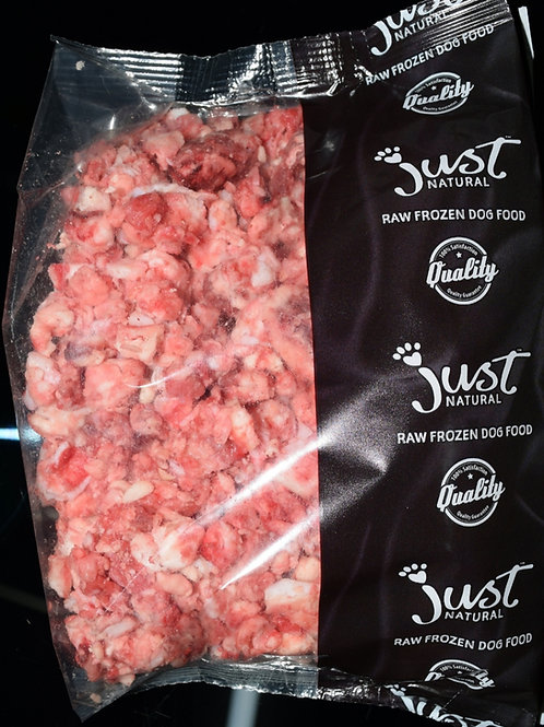Just Natural Beef Bone Free 454g packet