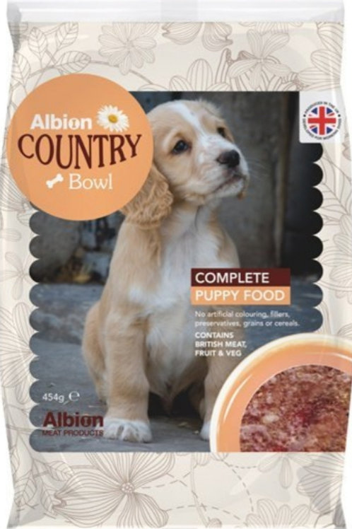 Albion Complete Puppy Food 454g Packs