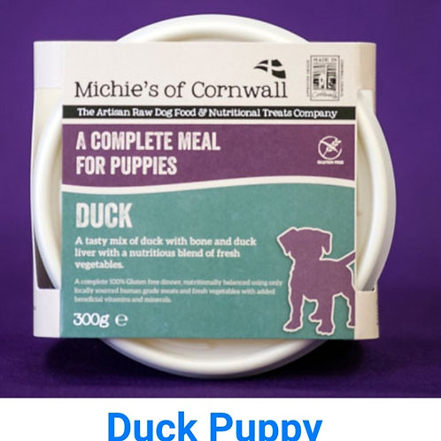Michies Duck 300g Complete Puppy Food