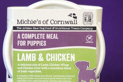 Michies Lamb & Chicken 500g Complete Puppy Food