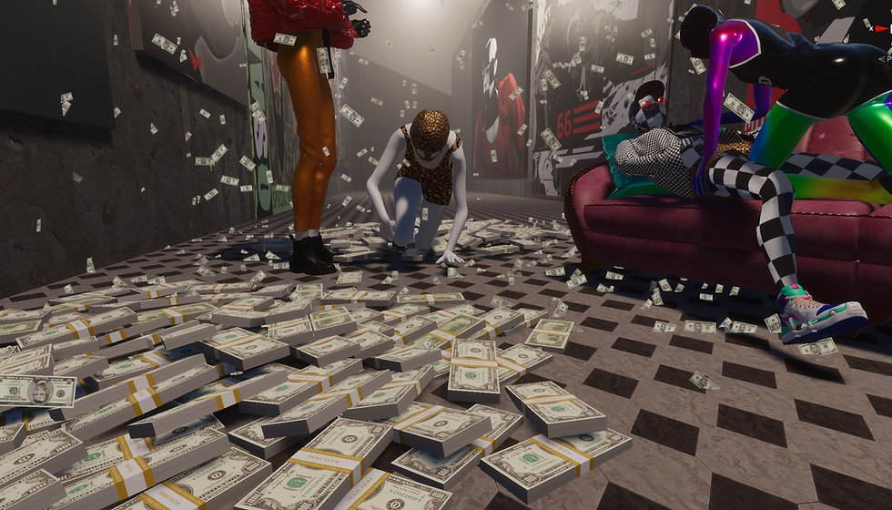 artboy invisible mc cgi 3D arts blender unreal