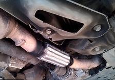 Замена гофры на двигателе