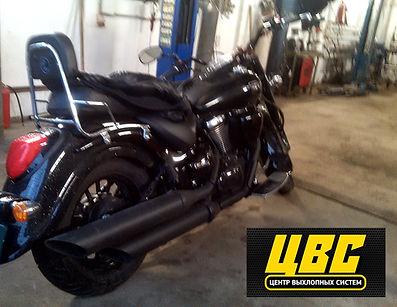 Глушитель на мотоцикл