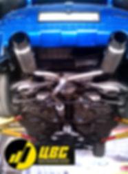 Выхлоп 350Z