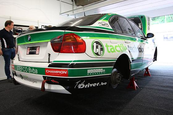 Race wagen Circuit Zolder