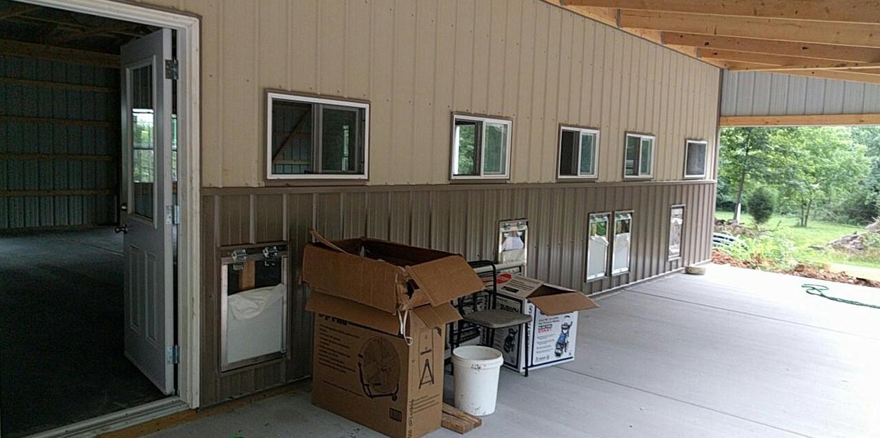 Exterior shelter shot