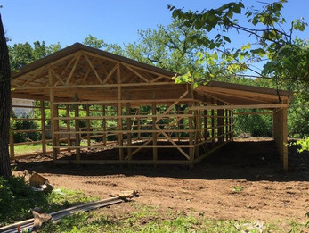 The new shelter is looking great!