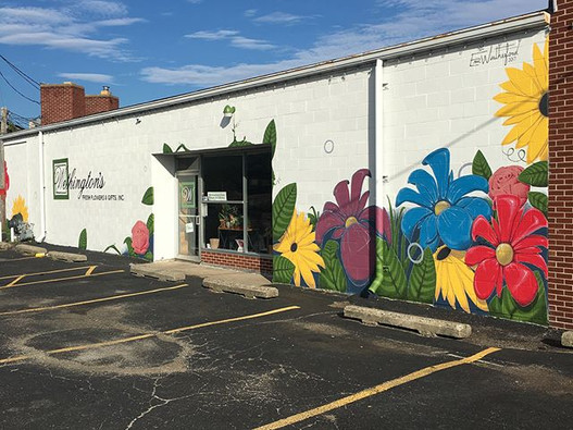 My completed mural at Wethington's Fresh Flowers & Gifts, Inc. located in Decatur, IL. ._._._._.jpg