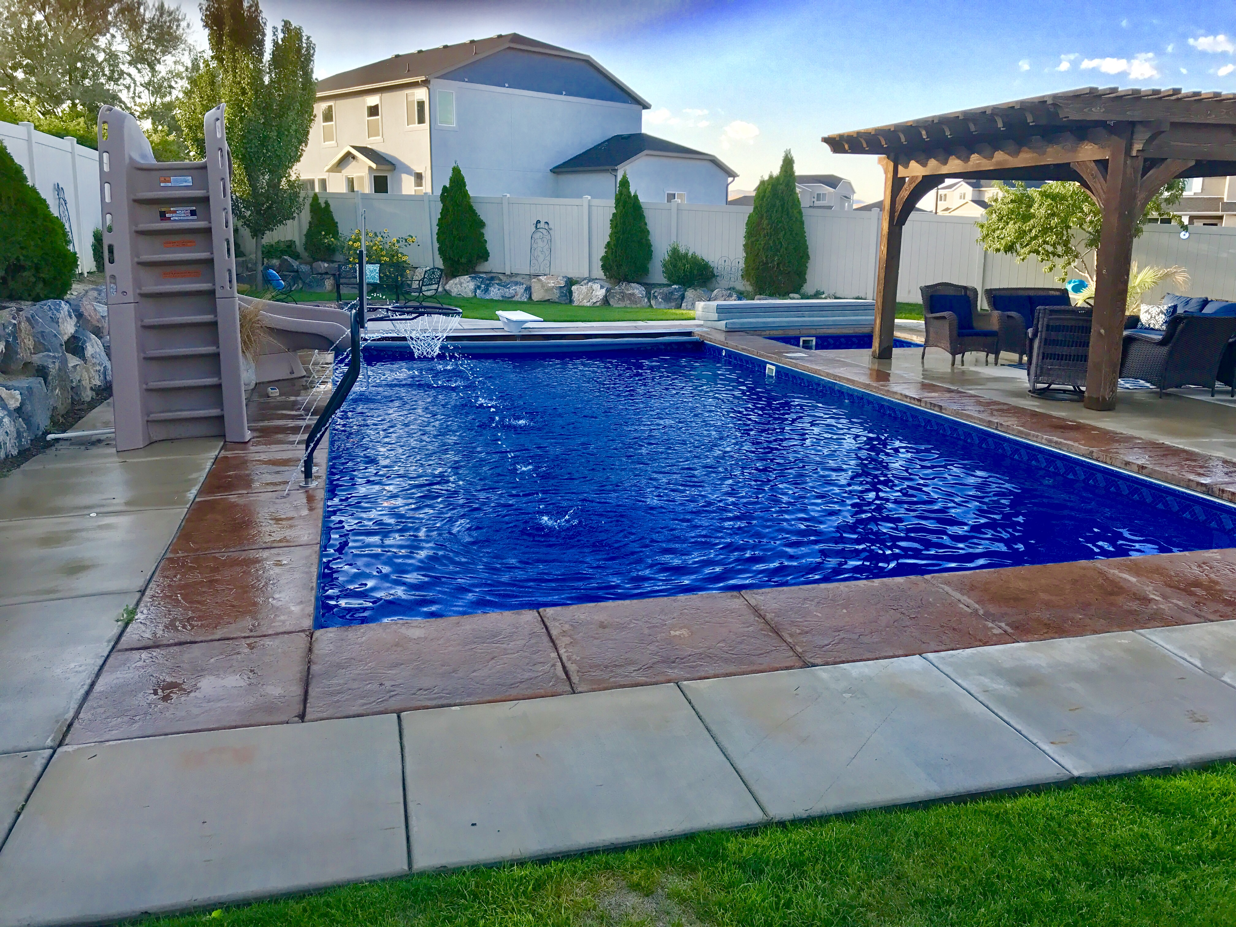 Vinyl Swimming Pool Construction | Utah | Utah Vinyl Pools ...