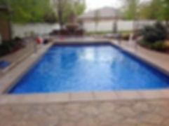 Utah In ground Vinyl Swimming Pool