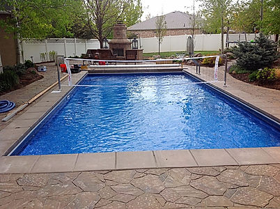 Utah In ground Vinyl Swimming Pool