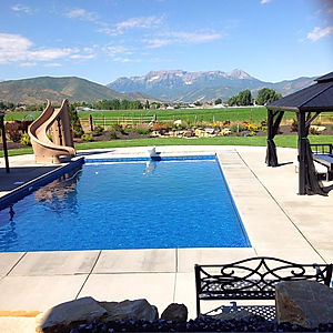 Utah Inground Vinyl Swimming Pool