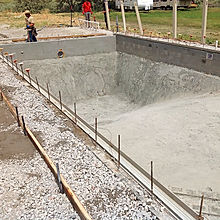 Utah Vinyl Swimming Pool Construction