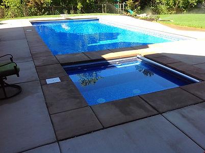 Utah Vinyl Swimming Pool Construction