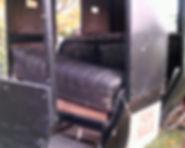 Amish Buggy Inside
