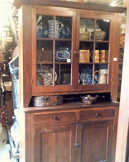 2 Pcs. Cherry Cupboard 1850