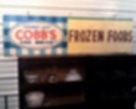 1940's Door County Sign Cobb's