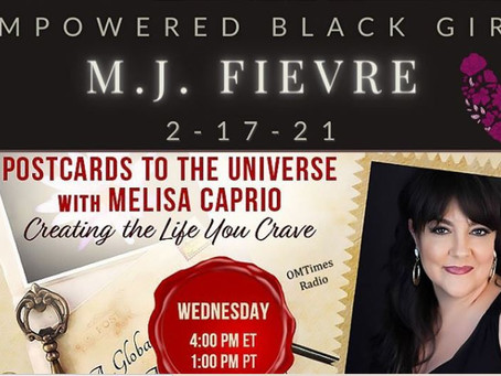 MJ Fievre: Creating the Life You Crave   Postcards to the Universe Vlog