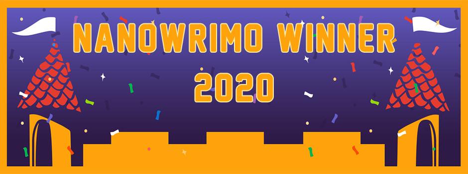 NaNoWriMo Winner's Banner