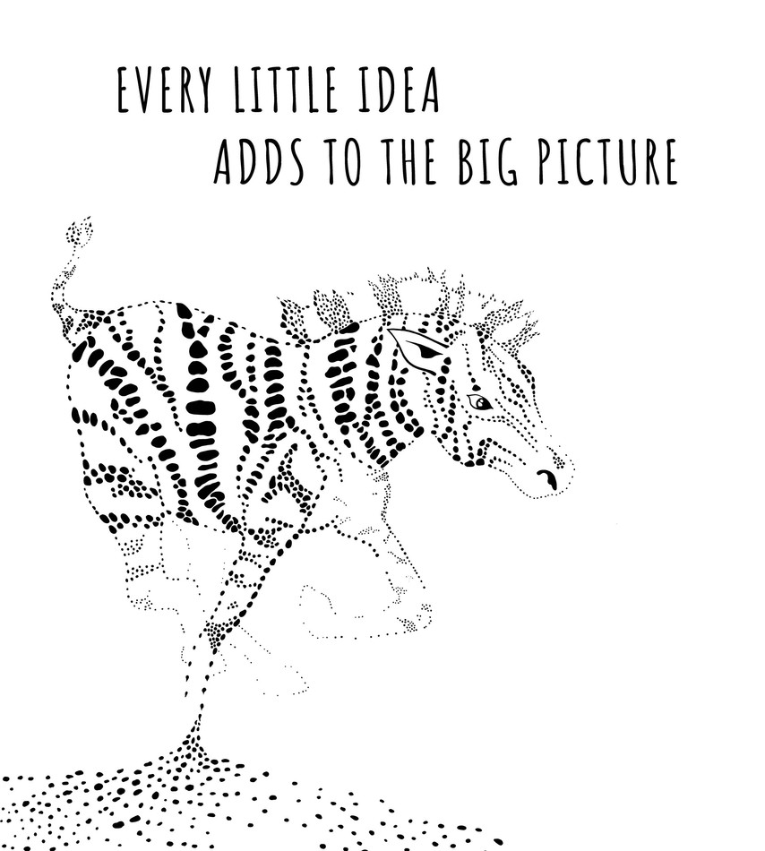 Little by little, a little becomes A LOT