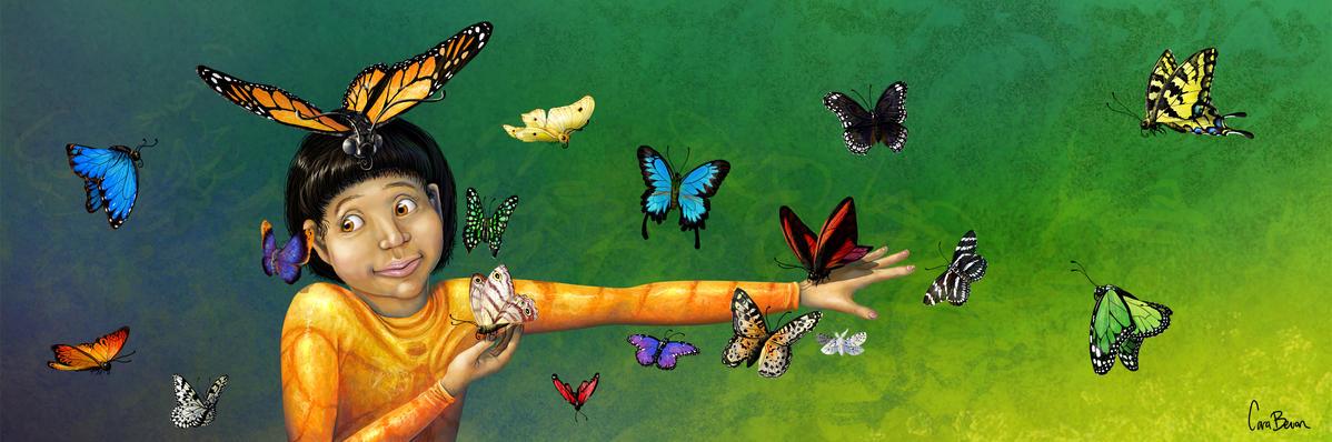 Mona of the Butterflies