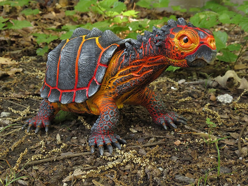 """Magnus"" the Magma Tortoise"