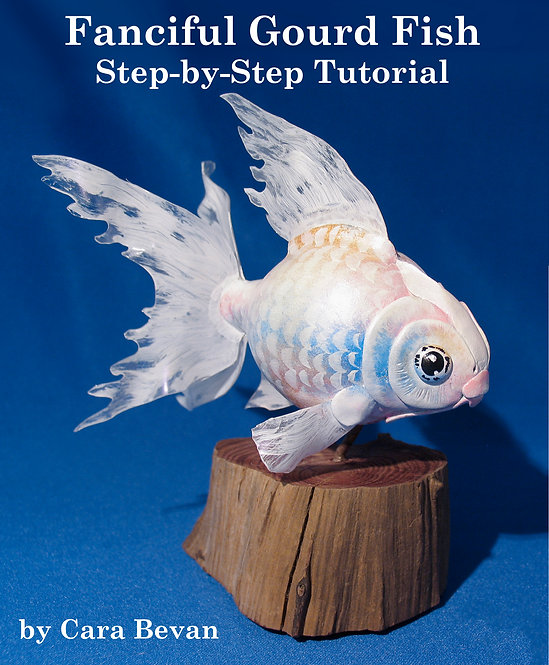 Miniature Gourd Fish Sculpting Tutorial