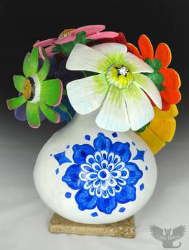 Gourd Flower Vase
