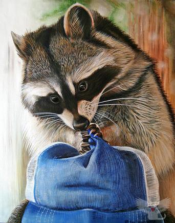 Raccoon Cap