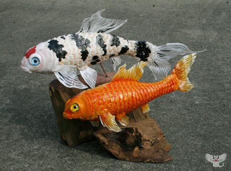 Koi Fish Duo