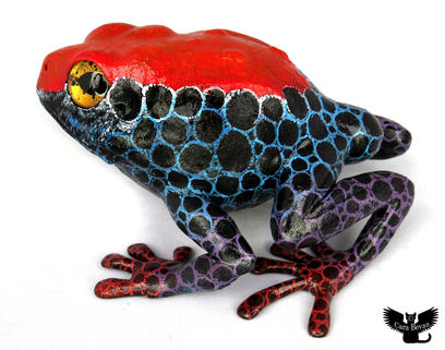 Frog #162 - Red-head Poison Dart Frog