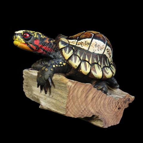 Miniature #20, Indonesian Box Turtle