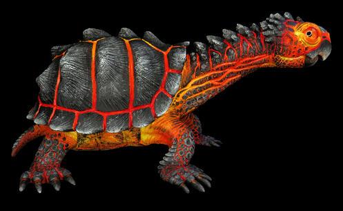 """""""Magnus"""" the lava turtle. #HR19"""