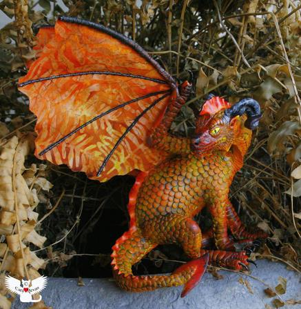 Brann Torden the fire dragon