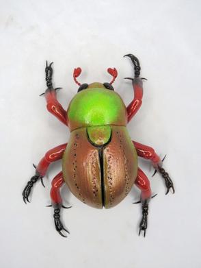 Miniature Beetle #45 - Christmas Beetle