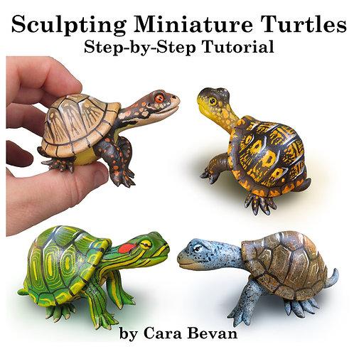 Miniature Gourd Turtles Sculpting Tutorial
