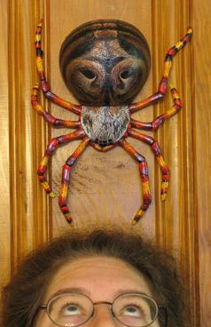Garden spider (wall-hanging)