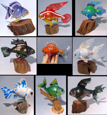 Miniature fish collection