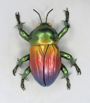 Minaiture Beetle #47 - Jewel Beetle
