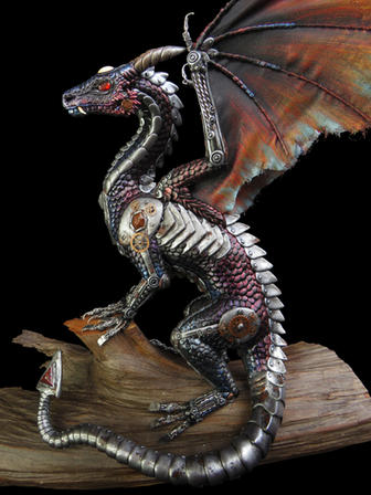Khronos the Cyborg Dragon