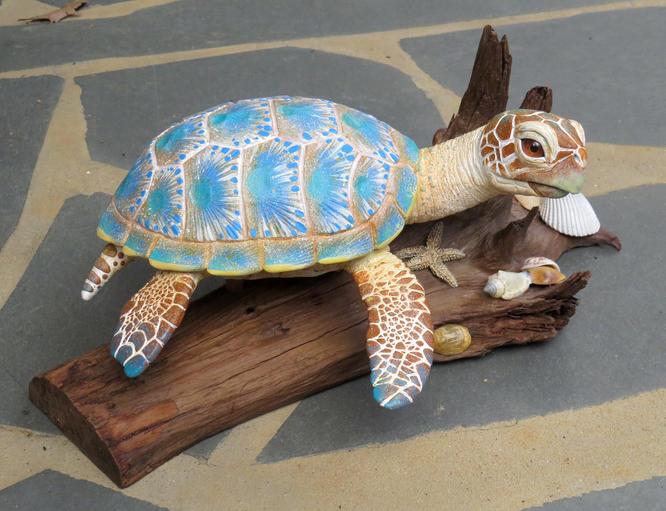 Beach Sea Turtle, #HR13