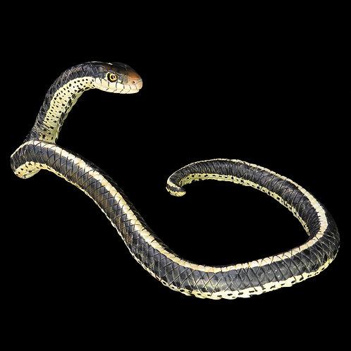 Striped Garter snake wall-hanging