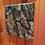 "Thumbnail: Bark"" acrylic on wood"