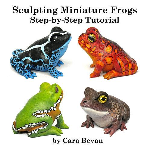 Miniature Gourd Frog Sculpting Tutorial