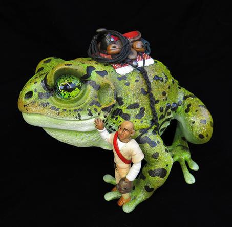Frog #187 - Kuda and the Monk