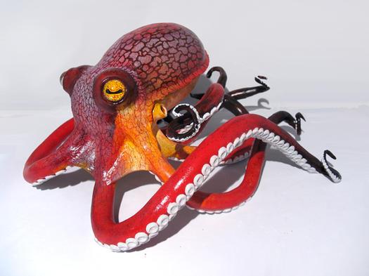 """Edward"" the Octopus"