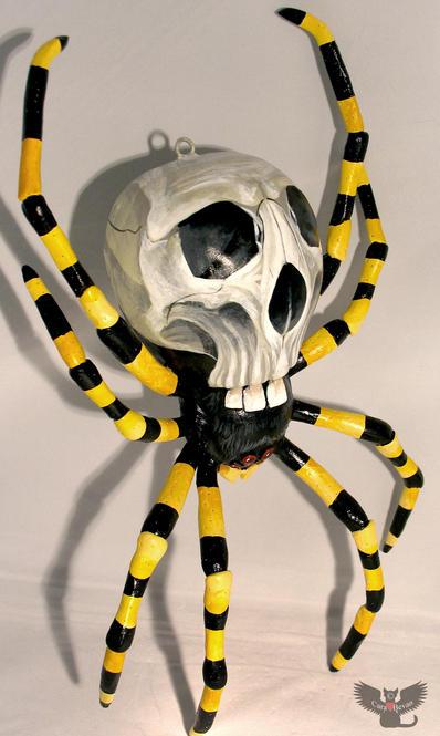 Wall-hanging Skulltula spider