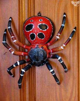 Wall-hanging spider #4